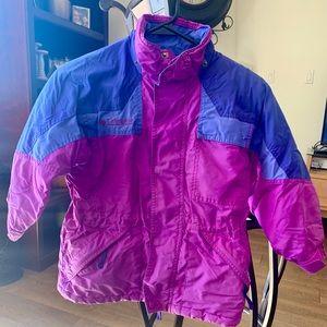 Girls Columbia Snow Jacket 6x